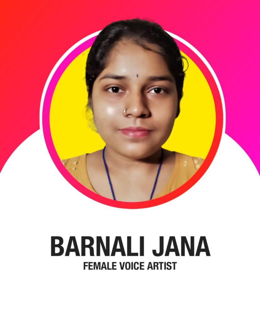BARNALI JANA DIGITAL BANDHAN VOICE ARTIST